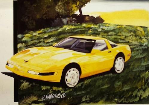 1992 Chevrolet Corvette  by Henry Hargrove