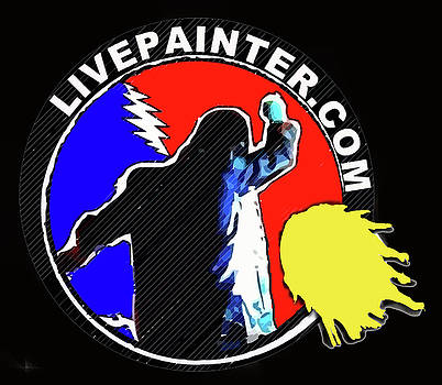 1st Live Painter Logo by Neal Barbosa
