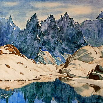 Aiguilles de Chamonix by Danielle Arnal