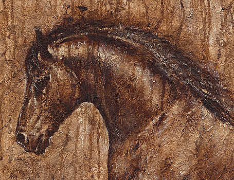 Ancient glory by Paula Collewijn -  The Art of Horses