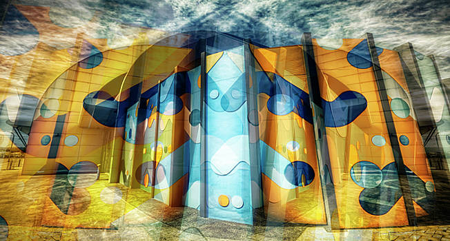 Architectural Abstract by Wayne Sherriff