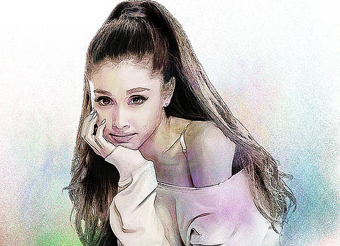 Ariana Grande by Elena Kosvincheva