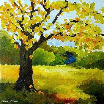 Autumn Landscape by Carola Ann-Margret Forsberg