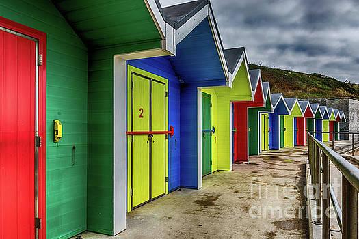 Beach Huts 2 by Steve Purnell