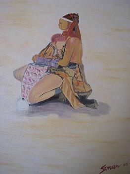 Beauty Of Motherhood by Saman Khan