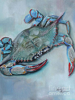 Blue Crab by Kristine Kainer