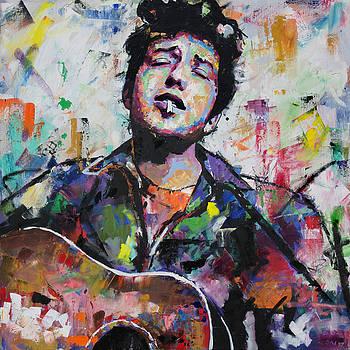 Bob Dylan by Richard Day