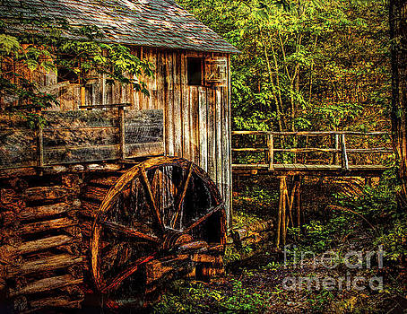 Cades Cove Mill by Dave Bosse