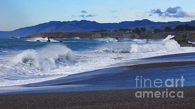 California Coast by Jacklyn Duryea Fraizer