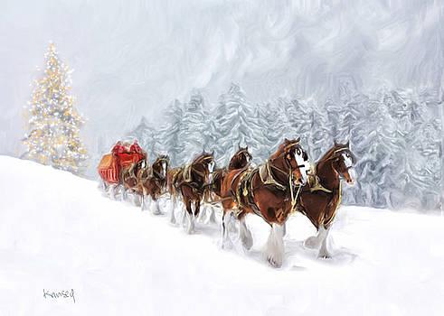 Carriage by Johanne Dauphinais