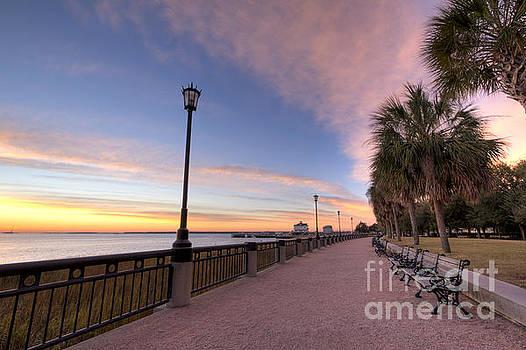 Charleston Waterfront Park Sunrise  by Dustin K Ryan