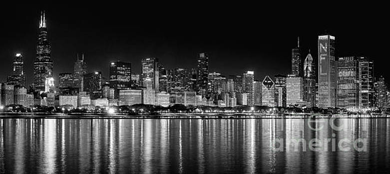 Chicago Skyline by Jeff Lewis