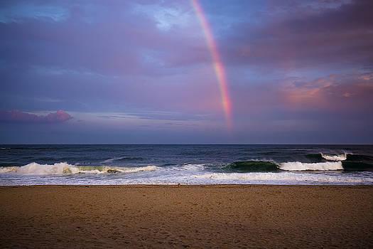 Coopers Beach Rainbow by Ryan Moore
