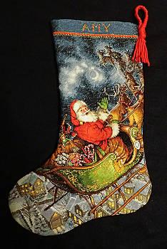 Cross-Stitch Stocking by Farol Tomson