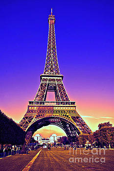 Eiffel Tower by Charuhas Images