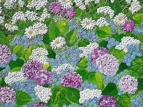 English garden by Jilly Curtis