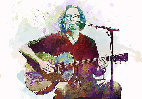 Eric Clapton by Elena Kosvincheva