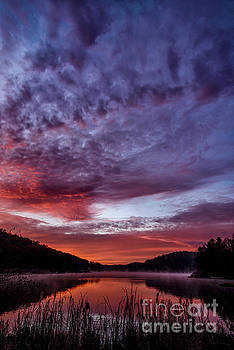 First Light on the Lake by Thomas R Fletcher