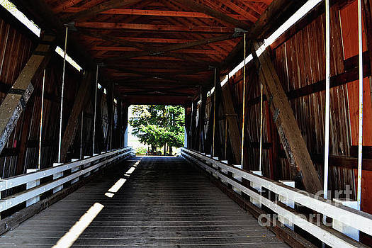 Gallon House Covered Bridge by Ansel Price