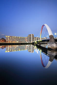 Glasgow Clyde Arc Reflection by Grant Glendinning