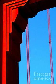 Golden Gate Bridge In San Francisco California by Michael Hoard