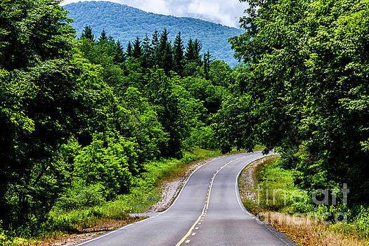 Highland Scenic Highway by Thomas R Fletcher