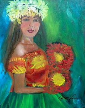 Hula 1 by Jenny Lee