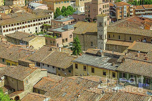 Italian roofs by Patricia Hofmeester