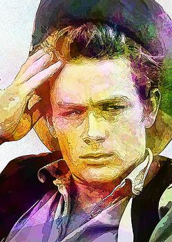 James Dean by Elena Kosvincheva