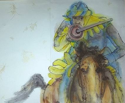 jousting.and Falconry album by Debbi Chan