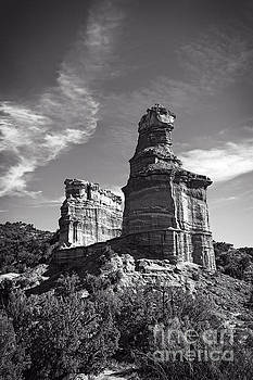 Lighthouse Peak and Castle Rock by Charles Dobbs