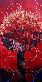 Lollipop Tree Red by Shiela Gosselin