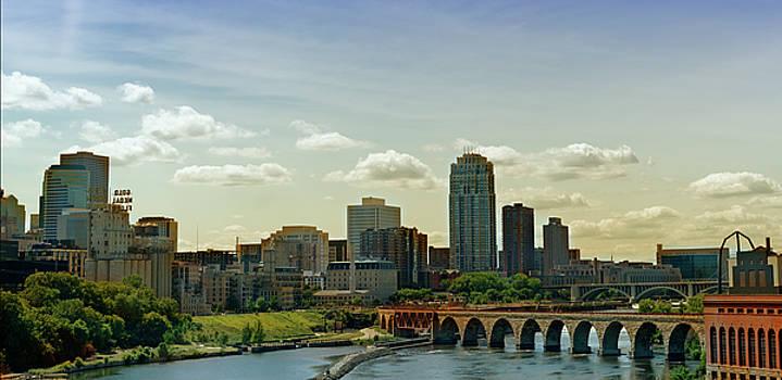 Minneapolis Skyline by Susan Stone
