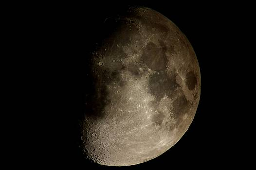 Moon by George Leask
