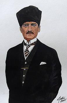 Mustafa Kemal Ataturk by Fethi Canbaz