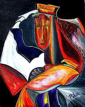 Mystery Woman by Pilar  Martinez-Byrne