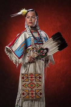 Native Woman by Christian Heeb