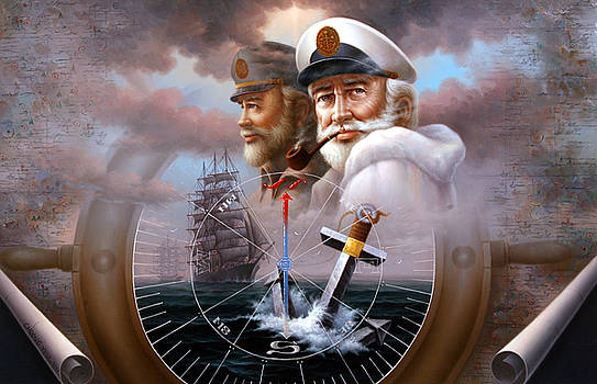 News Two Map Captain or Two Sea Captain by Yoo Choong Yeul