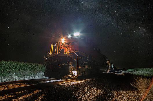 Night Train  by Aaron J Groen