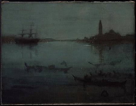 Nocturne in Blue and Silver by James Abbott