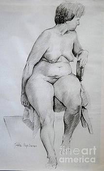 Nude Study by Jukka Nopsanen