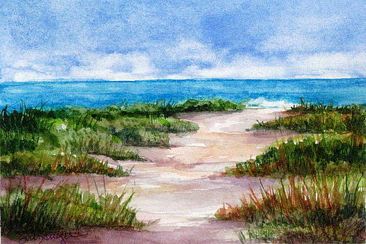 Path to the Beach by Suzanne Krueger
