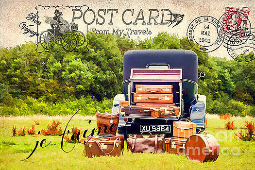 Postcard From My Travels. by ShabbyChic fine art Photography