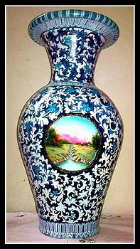 Pottery Painting by Asif Kasi