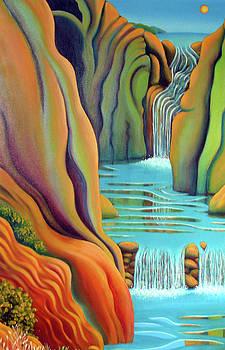 Prosperity Waterfall 2 by Barbara Stirrup