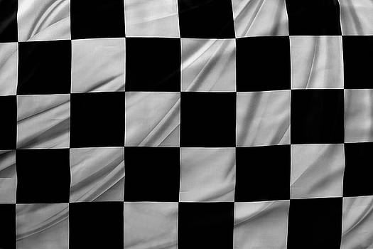 Racing flag by Les Cunliffe