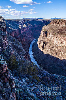 Rio Grande Gorge Bridge by Roselynne Broussard