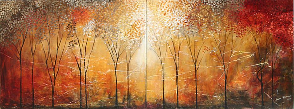 Rustic Woods by Lauren  Marems