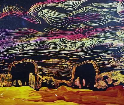 Safari Sunset by Samuel Banks