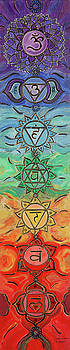 Seven Chakras Magic by Sandra Petra Pintaric